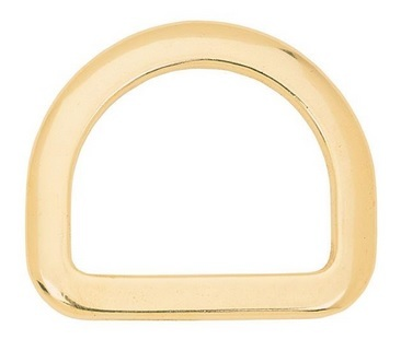 "11116 Saddle Dee Solid Brass, 2-1/2"" ca. 63 mm"
